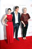 Odeya Rush, Brenton Thwaites and Meryl Streep