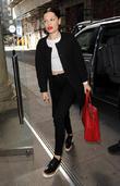 Jessie J arrives at Kiss FM