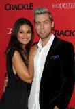 Emmanuelle Chriqui and Lance Bass