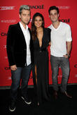 Lance Bass, Emmanuelle Chriqui and Michael Turchin