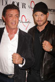 Sylvester Stallone and Kellen Lutz