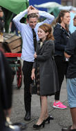 Emily Browning and Paul Anderson