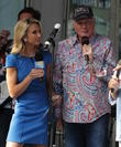 The Beach Boys and Elizabeth Hasselback