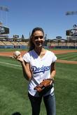 Jessica Alba, Dodger Stadium