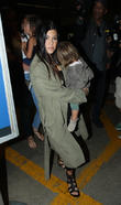 Kourtney Kardashian, Penelope Disick and Mason Disick