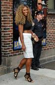 Serena Williams, Ed Sullivan Theater, The Late Show