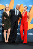 Dwayne Johnson, Ingrid Bolso Berdal and Irina Shayk