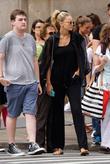 Gigi Hadid leaving The Mercer Kitchen in SoHo