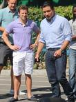 Marco Andretti and Mario Lopez