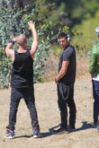 """Zac Efron filming """"We Are Your Friends"""""""