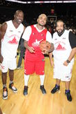 Terrell Owens, Chris Brown, DJ Khaled