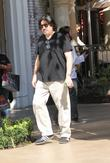 Alfred Molina goes shopping in Hollywood