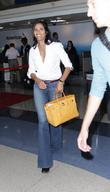 Padma Lakshmi departs from Los Angeles International Airport