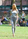 Heidi Klum on model shoot
