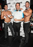 Perez Hilton and Chippendales