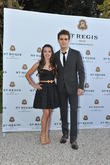 Paul Wesley and Fatima Ptacek