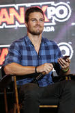 Wrestling Fan Stephen Amell Books Wwe Debut