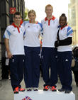 Max Whitlock, Gemma Gibbons, Ed Clancy and Nicola Adams