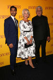 Helen Mirren, Om Puri and Manish Dayal