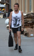 Perez Hilton out and about on Lower East Side