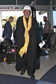Ben Vereen arrives at Los Angeles International Airport (LAX)
