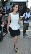 Emmy Rossum, New York Fashion Week