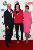 Pamela Meyerhoffer, John Seffrin and Sherry Lansing