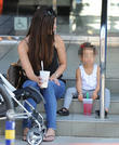 Roselyn Sanchez Teaching Baby Girl Spanish