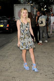 Dakota Fanning, New York Fashion Week