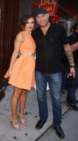 Randy Couture and Karina Smirnoff