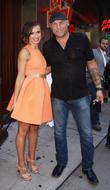 Randy Couture and Karina Smirnoff
