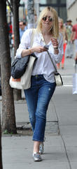 Dakota Fanning out and about in SoHo
