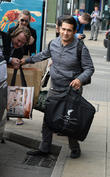 Coronation Street cast members arrive at Manchester Piccadilly