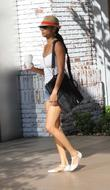 Rochelle Aytes shopping in Hollywood