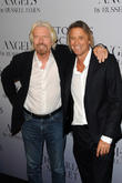 Richard Branson and Russell James