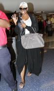 NeNe Leakes arrives at Los Angeles International (LAX) airport