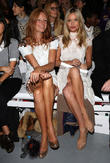 Laura Whitmore, Olivia Inge, London Fashion Week