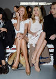 Olivia Inge, Laura Whitmore, London Fashion Week