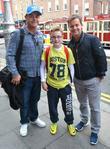 Anthony McPartlin, fan Daniel Burke, Declan Donnelly