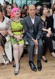 Zandra Rhodes and Jimmy Choo