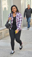 Mindy Kaling spotted strolling in Soho