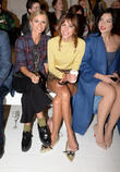 Laura Bailey, Alexa Chung, Daisy Lowe, London Fashion Week