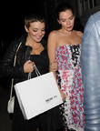 Sheridan Smith and Anna Friel
