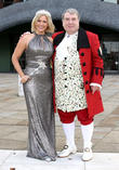Suzanne Shaw and Russell Grant