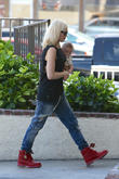 Gwen Stefani and Apollo Bowie Flynn Rossdale