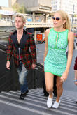 Pixie Lott and Trent Whiddon