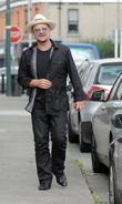 U2's Bono spotted walking in Dublin
