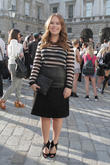 Tanya Burr, Sommerset House, London Fashion Week