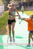 Paula Radcliffe and Isla Radcliffe