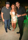 Joey Fatone, Nikki Giavasis and Joey Chowaiki